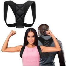 Getinfit orthèse ceinture de soutien réglable Posture arrière correcteur clavicule dos épaule lombaire Correction de Posture