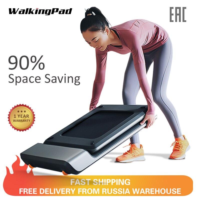 WalkingPad A1 eléctrico inteligente plegable cinta de correr espacio máquina de andar aeróbico equipo para entrenamiento deportivo de Xiaomi ecosistema