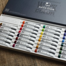 Original Imported South Korea Shinhan Transparent Watercolor Paint Tube Paste Water Color 30 Color S