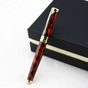 JINHAO new style fountain pen Luxury gift metal ink pen can choose Beautiful gift box or with black pen bag packing