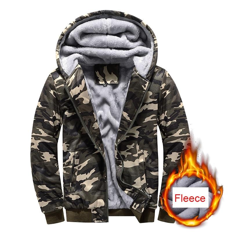 Мужская Уличная Теплая Флисовая Повседневная куртка с капюшоном, модная куртка, Мужская парка, толстая хлопковая Классическая куртка 5Xl на ...