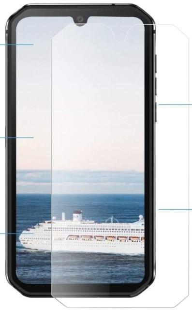 Закаленное стекло на WP10 2.5D 9H, Защитная пленка для экрана OUKITEL WP10 6,67, Защитное стекло для экрана OUKITEL WP10, стеклянная пленка