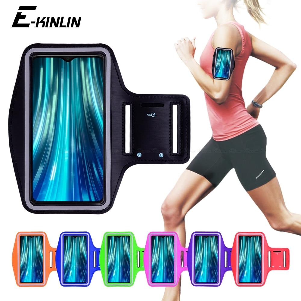 Correr gimnasio teléfono bolsa para Xiaomi Redmi Note 9S 9 8 7 5 6 Pro Mi Max mezclar 2 3 10 9T 9 8 SE A3 A2 Lite banda de brazo caso