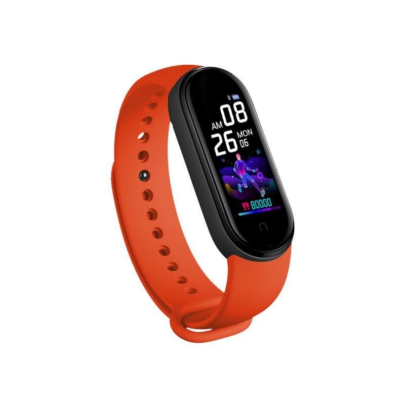 Nuevo reloj inteligente M5, pulsera para Fitness, ritmo cardíaco, presión arterial, pulsera deportiva para M5 fitpro, banda inteligente para Iphone huawei
