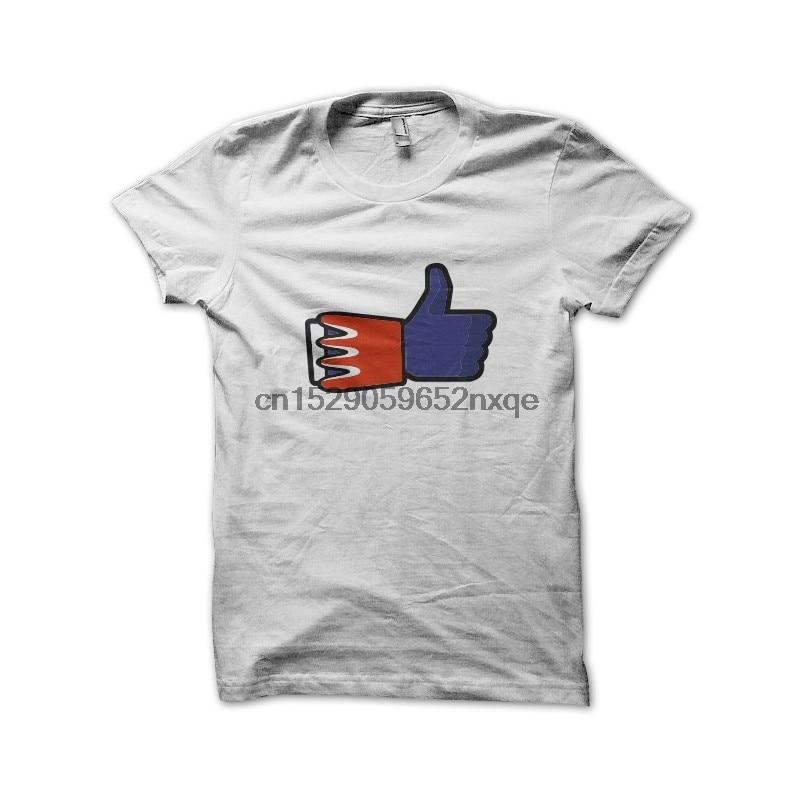 Мужская футболка Facebook parody T goldorak, белая футболка, женские и мужские футболки