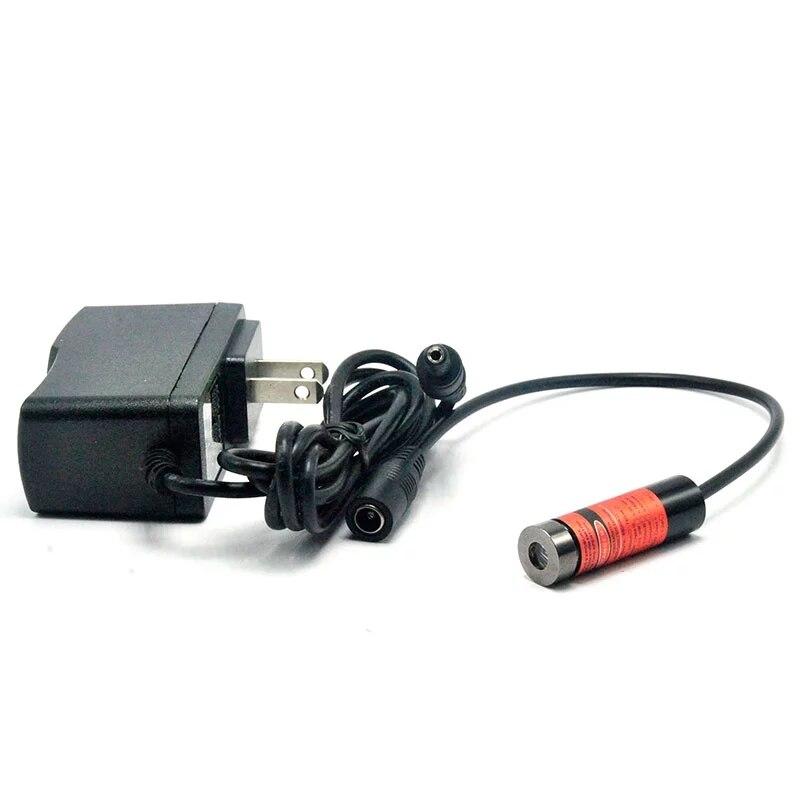 Фокусируемый 100 мВт 405 нм фиолетовый синий лазер ModuleDot% 2FLine% 2FCross w 2-осевой держатель +% 26 адаптер