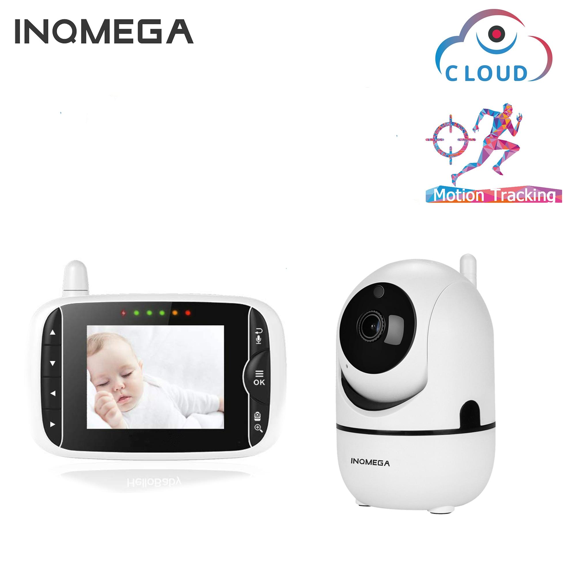 INQMEGA Детские Мониторы 4,3 дюймов 1080P инфракрасное ночное видение беспроводные видео Детские спальные мониторы камеры наблюдения температуры