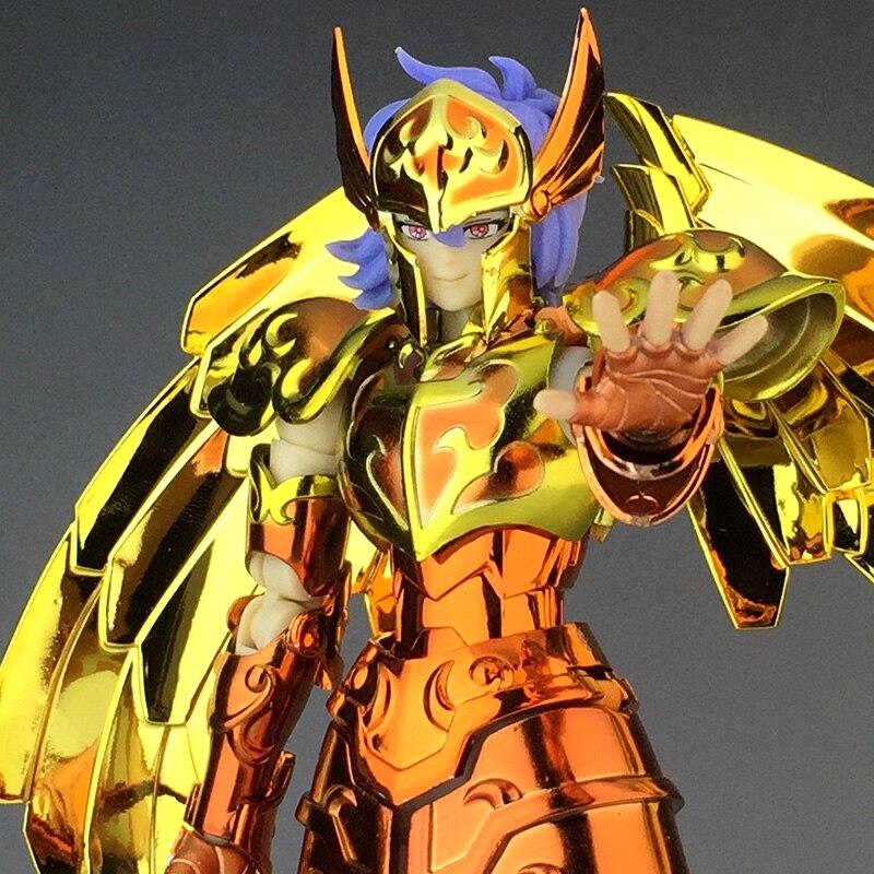 Llegada en stock JModel Saint Seiya de mito EX sirena Sorento Marina Solent PVC figura de acción de Metal modelo de armadura Juguetes