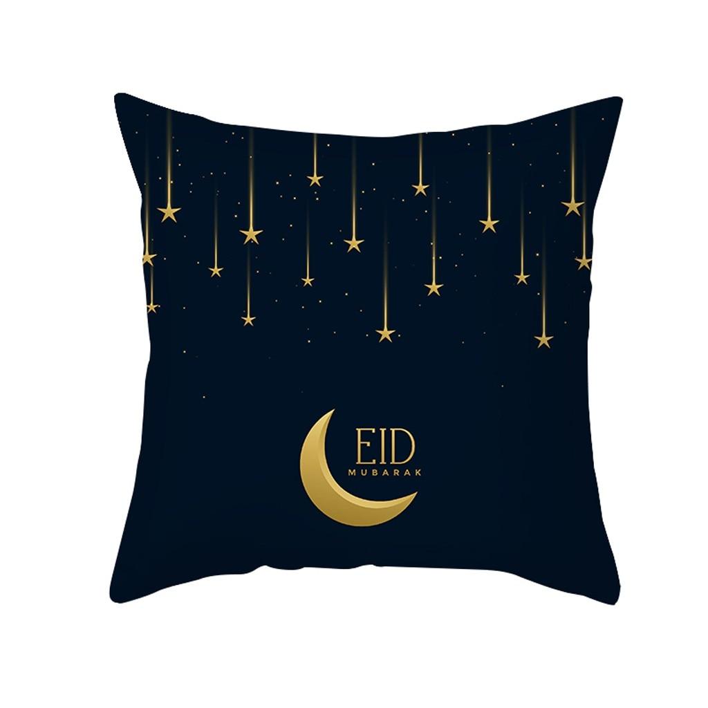 Eid Mubarak Ramadan Sofa Pillowcase Comfortable Pillow Islamic Decor Pillowcase For Bed Throw Pillow Covers Home Decoration 2019 christmas throw pillow covers santa clause 0utdoor pillow decorations for home sofa bed pillowcase xmas party kids gift