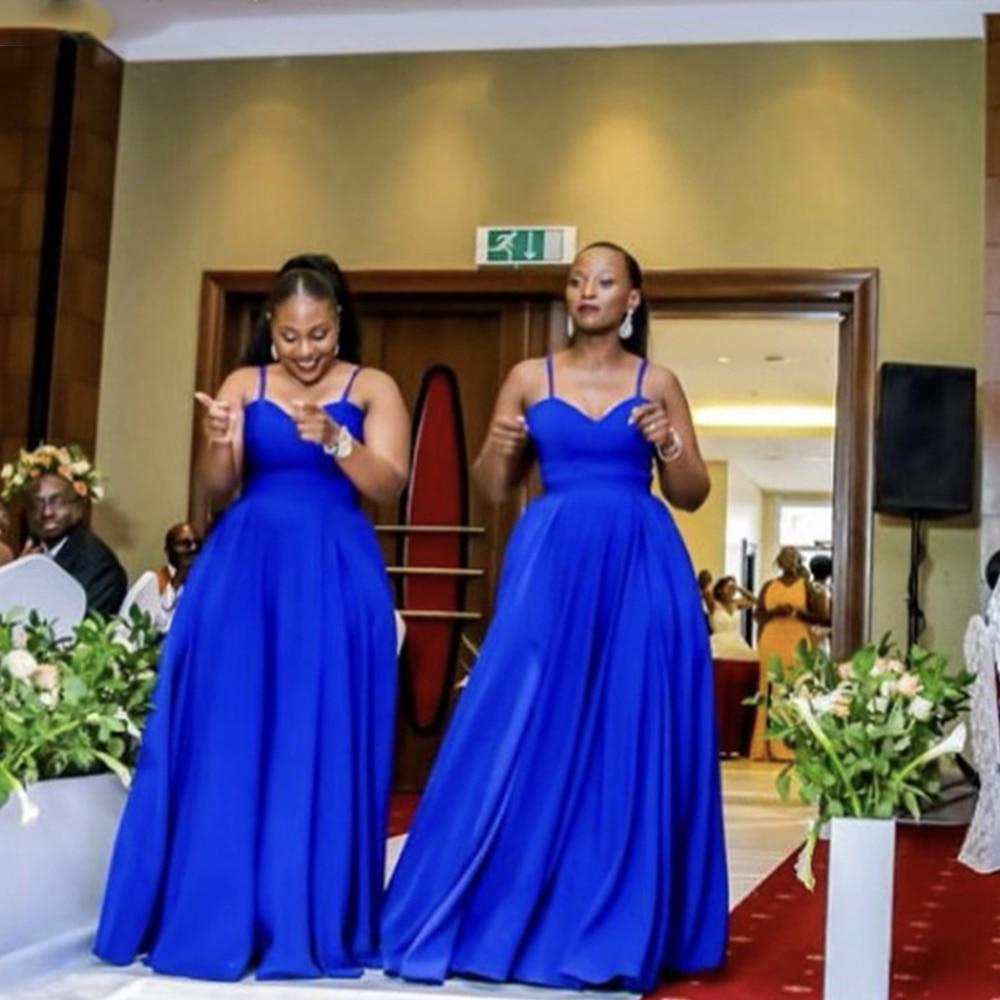 A-Line Sweetheaart Bridesmaid Dresses Spandex Side Slit Pleated Zipper Back  2021 Wedding Party Dress Robe De Soirée De Mariage недорого