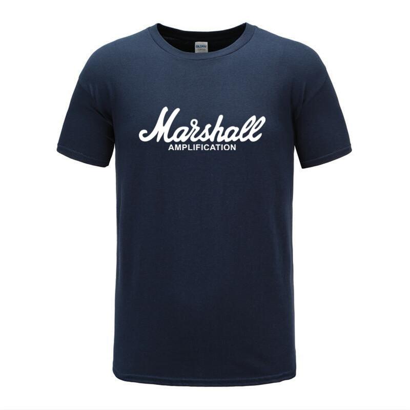 2019 nueva camiseta con Logo de Marshall Amps amplificación guitarra Hero Hard Rock Café música Muse Tops Camiseta deportiva hombres corriendo t camisa