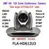 Caméra IP de vidéoconférence 12X USB 3.0 PTZ 1080p 1080P 60fps H.265 RJ45 2MP