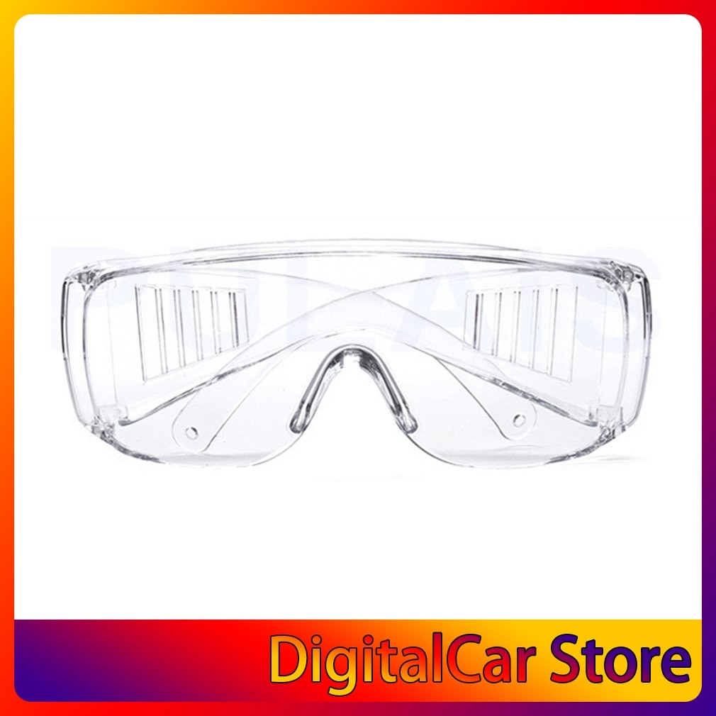 Safety Glasses Lab Eye Protection Eyewear Clear Lens Workplace Safety Goggles Anti-dust Supplies