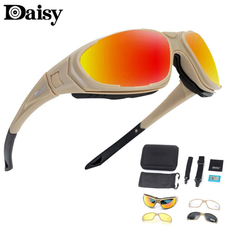 Daisy C9 polarized military goggles sunglasses men's tactical hunting outdoor sports sunglasses UV h