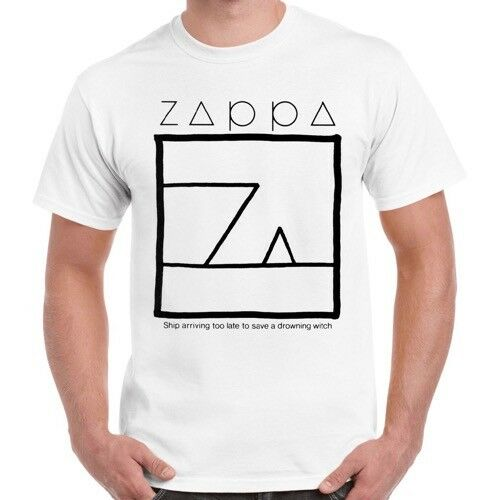 AliExpress - Frank Zappa Ship Arriving Too Late To Save A Drowning Witch Retro T Shirt 634