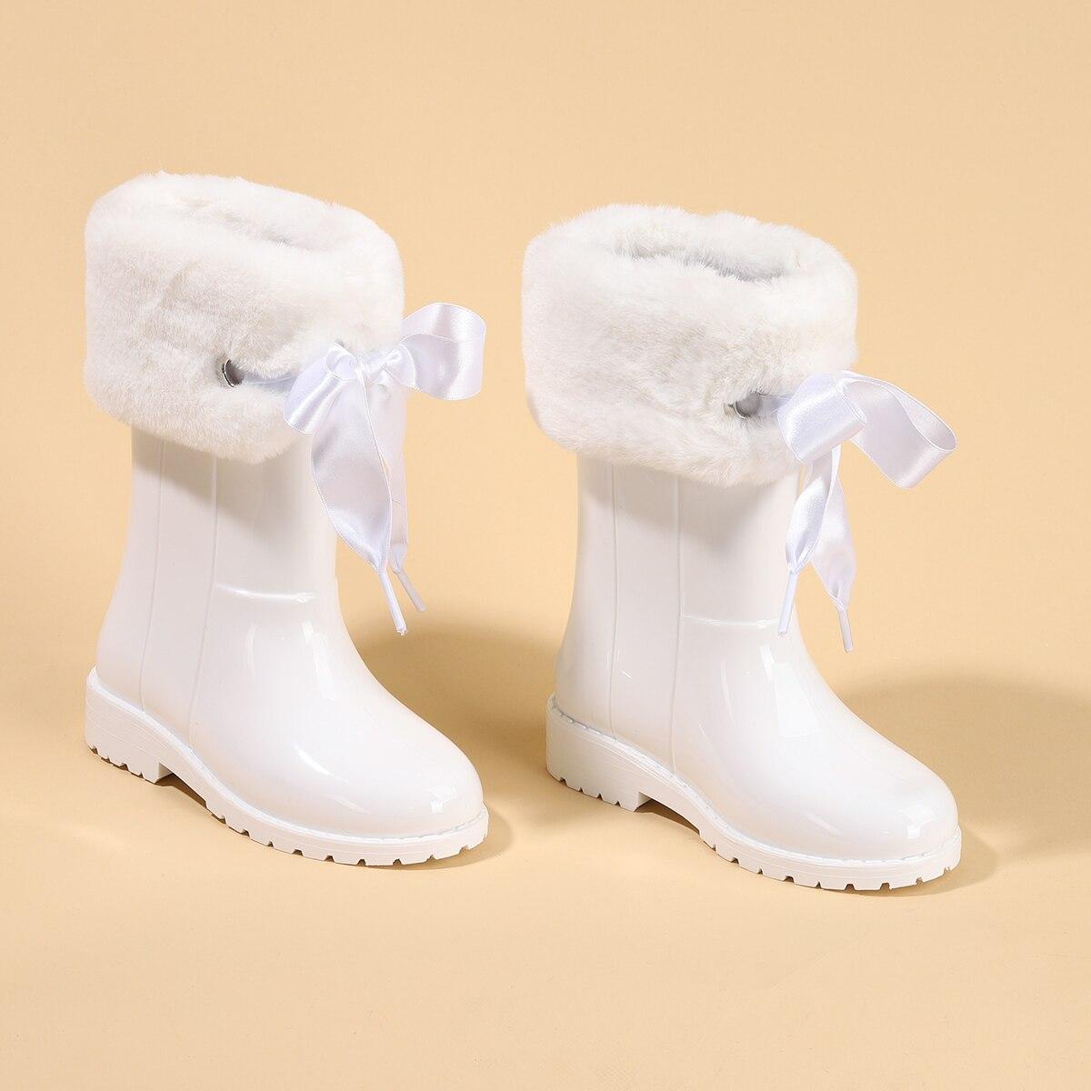 İgor W10239 Campera Charol Soft Female Child Waterproof Rain Snow Boot enlarge