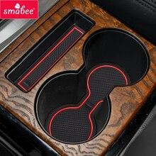 Smabee tapis de gobelets pour Mitsubishi Pajero MK2   Accessoires intérieurs, tapis antidérapant en caoutchouc, supports de gobelets 15 pièces Coaster