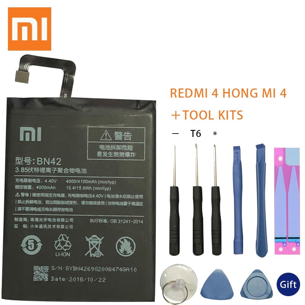 100% Original BN42 batería para Xiaomi Redmi 4 (2GRAM 16G ROM edición)...