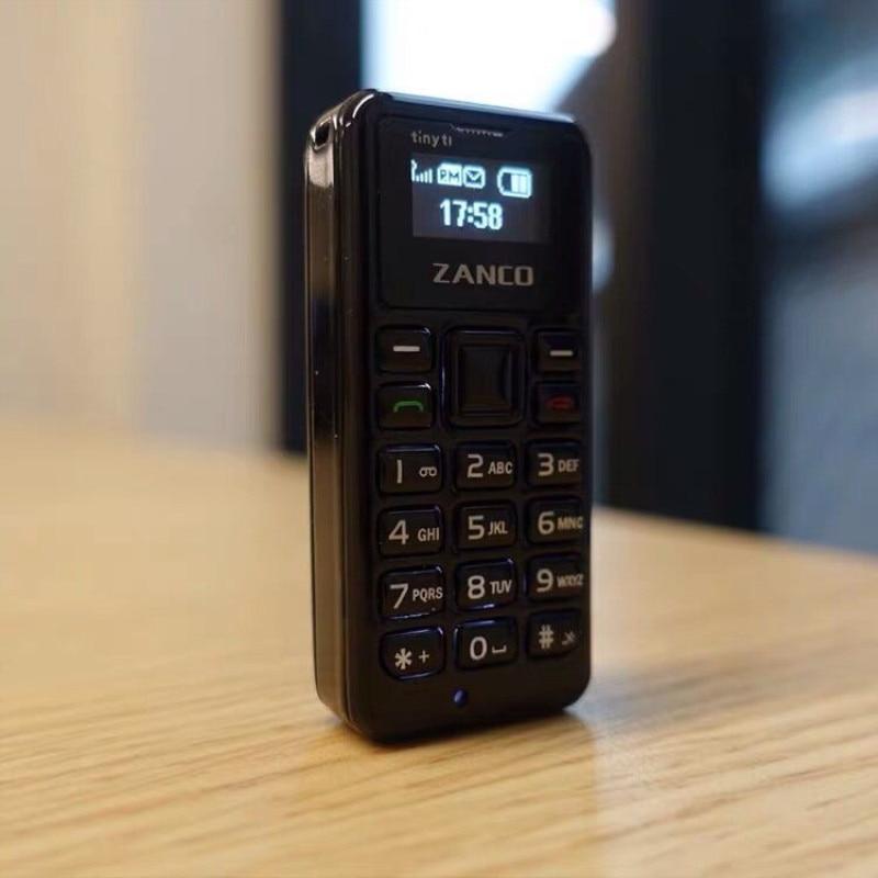 Миниатюрный мобильный телефон ZANCO t1, 2 шт., самый маленький в мире телефон, голосовой преобразователь, разблокированный телефон, купите его с...