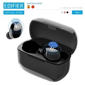 Беспроводные наушники EDIFIER TWS1 с поддержкой bluetooth 5,0 и сенсорным управлением