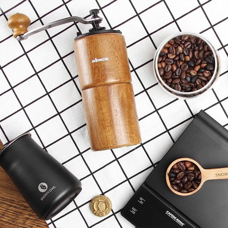 AKIRA-آلة طحن القهوة اليدوية الرجعية ، تايوان ، المنزلية