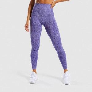2020 персиковые бесшовные жаккардовые штаны для йоги с высокой талией, спортивные обтягивающие леггинсы для фитнеса, женские леггинсы, спорт...
