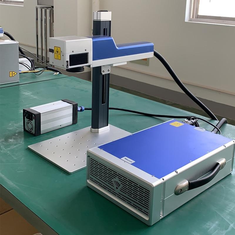 Promotional Fiber laser Marking Machine 20W Raycus Source Metal Marking Machine enlarge