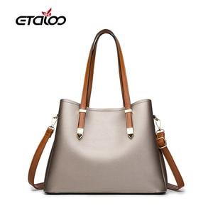 2020 New Women Bag Designer New Fashion Casual Women's Handbags Luxury Shoulder Bag High Quality PU Brand Style Big Capacity