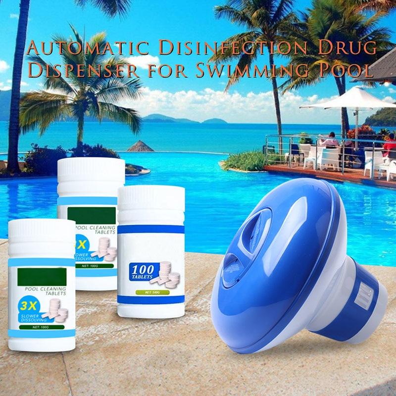 Spot, limpiador de bañera de agua flotante con cloro, tableta limpieza, con protección efectiva QP2