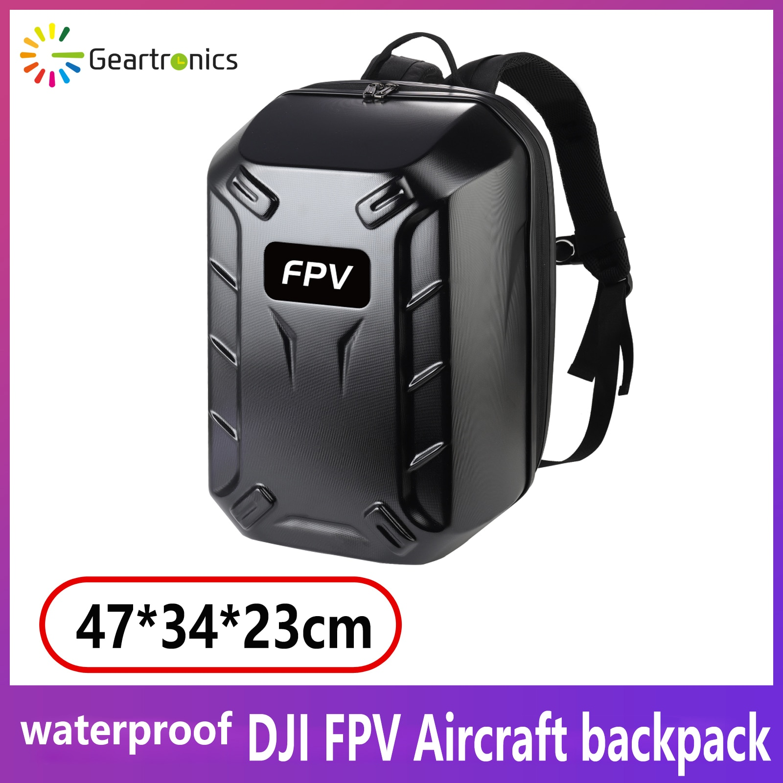 DJI FPV معبأة مع حقيبة الظهر-Crosser حقيبة كتف مزدوجة FPV نظارات V2 اكسسوارات حزمة الطائرة بدون طيار حقائب 1.78 كجم