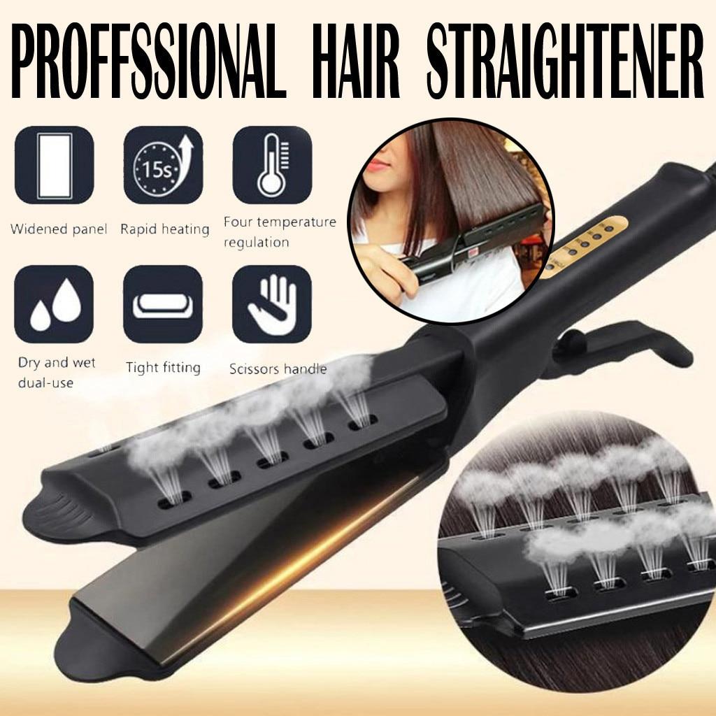 New Hair Straightener Ceramic Tourmaline Ionic Flat Iron Hair Straightener For Women