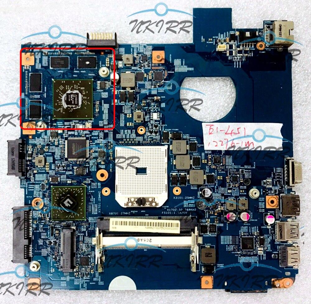 EA40-CM 12276-1M 48.4L903.01M 48.4L902.01M 48.4L904.01M NBM6Z11001 NBM5Z11001 HD8750M placa madre para Acer...