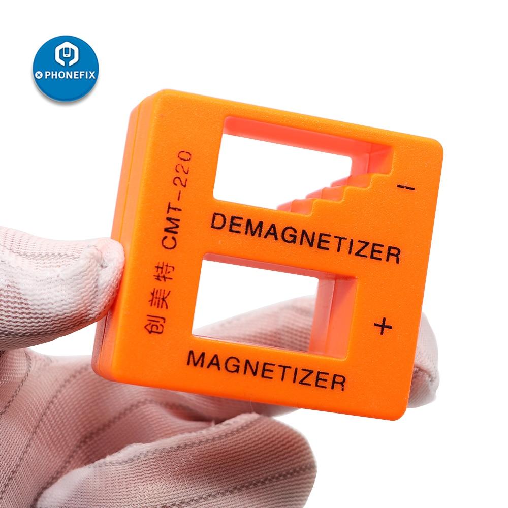 Magnetizer Demagnetizer for Screwdriver Tips Magnetization Magnetic Screwdriver Assistant Tool for E