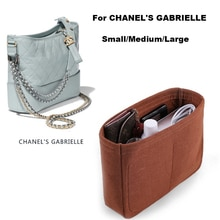 ForChane l Gabriell.e Hobo/Small Medium Large/insert Organizer purse Handbag Inner bag - Premium 3MM Felt (Handmade/20 Colors)