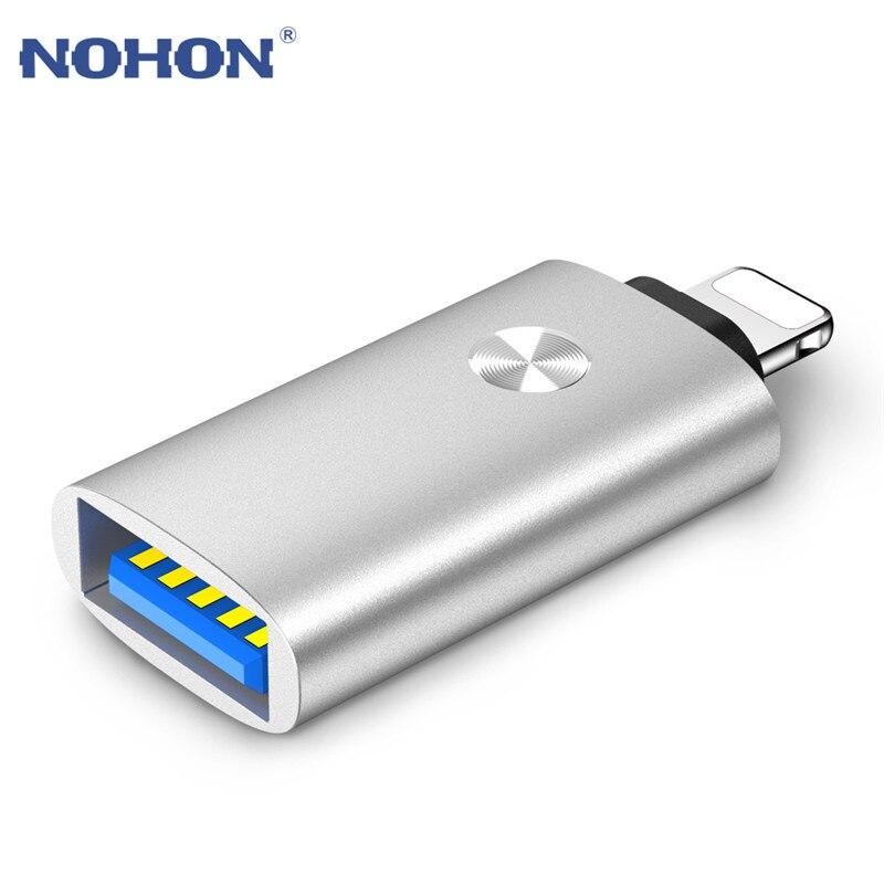 OTG адаптер для lightning-USB адаптер для iPhone 11 Pro Max X XS XR 6 6S 7 8 Plus конвертер для iPad iOS 12 13 подключение MIDI