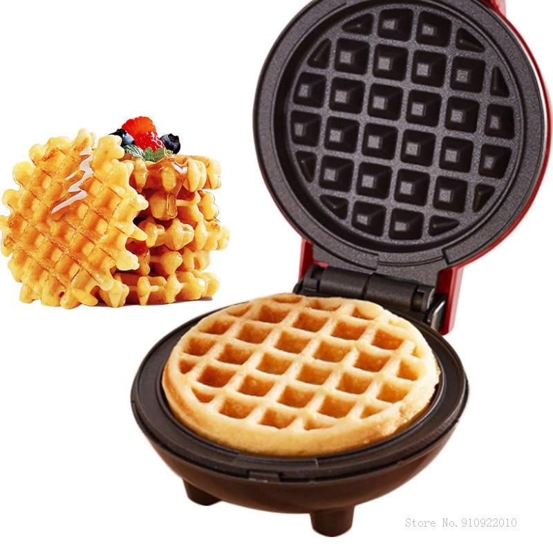 Multifunctional Electric Mini Waffles Maker Waffle Machine Bubble Egg Cake Oven Breakfast Oven Pan Eggette Machine Waffle Maker недорого