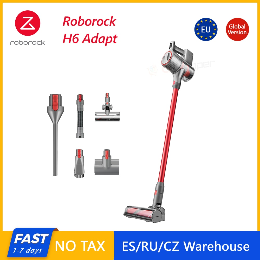 Roborock H6 Adapt Cordless Vacuum cleaner Portable All in one 150AW Strong Suction 420W OLED Display Wireless Handheld Portable