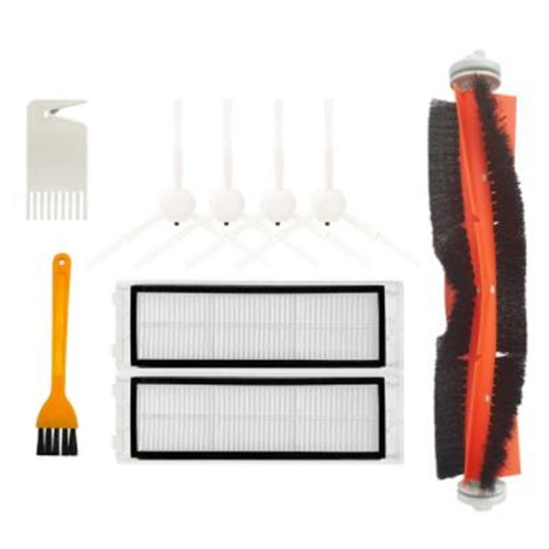 HEPA Filter Mop Cloth Main Side Brush Replacement Kit for XIAOMI 1C STYTJ01ZHM Robot Vacuum Cleaner Spare Parts