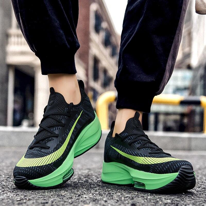 De los hombres de la moda Zapatos de aire zapatillas de deporte...
