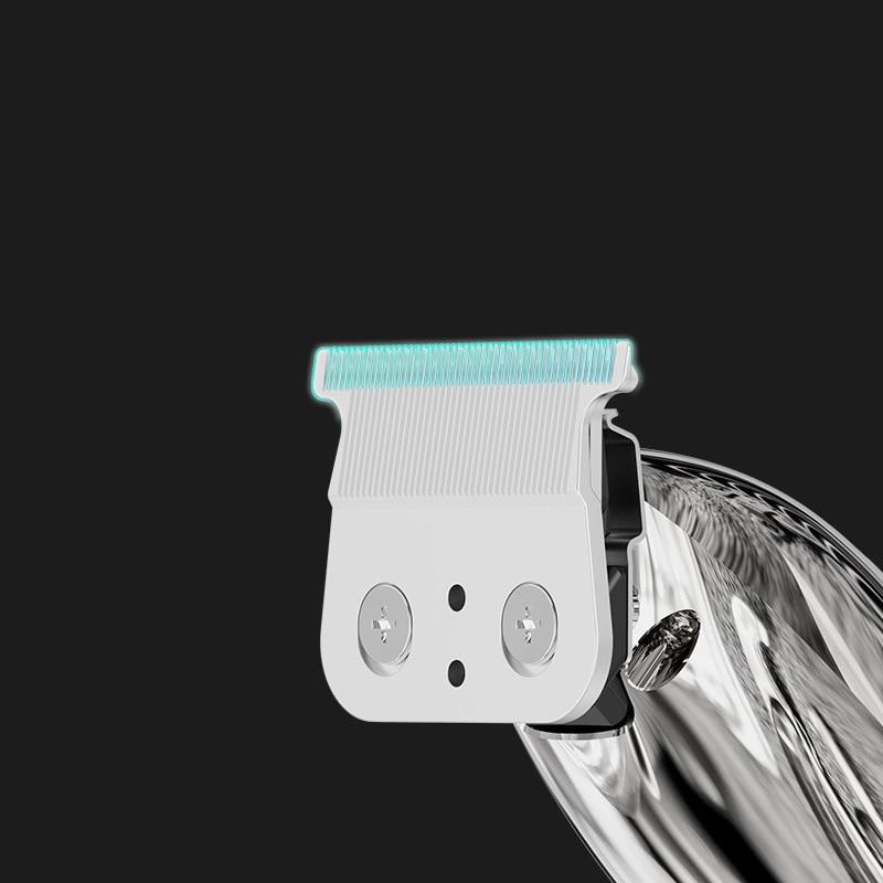 Professional Electric Hair Clipper Hair Trimmer Titanium Blade Lithium 1400mAh Haircut Machine enlarge