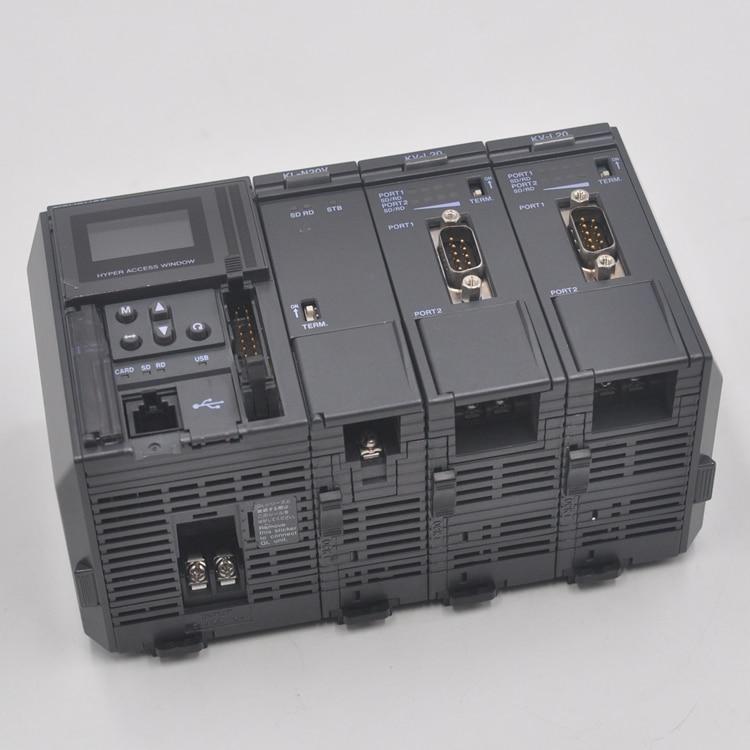 KEYENCE KV-700 PLC module KV-L20 KV-L20V programmable controller enlarge