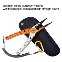 fishing pliers line cutter multifunctional knot aluminum alloy scissors hook remover 150g 20cm fishing equipment fishing tools