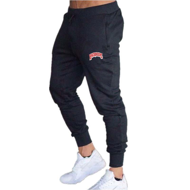Мужские спортивные штаны для бега, однотонные тренировочные штаны для спортзала, спортивная одежда, мужские спортивные штаны для бега, спор...