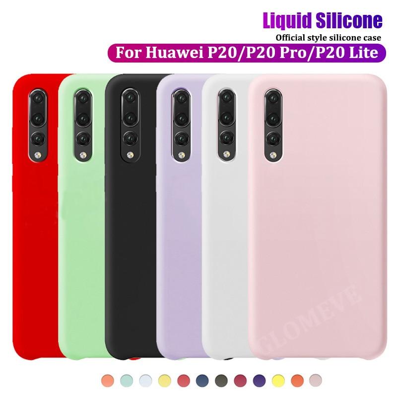 Оригинальный жидкий силиконовый чехол для Huawei P40 P20 P30 Mate 20 30 10 Pro Lite Honor 20 10 9 Lite 8X V10 10i P Smart Официальный чехол