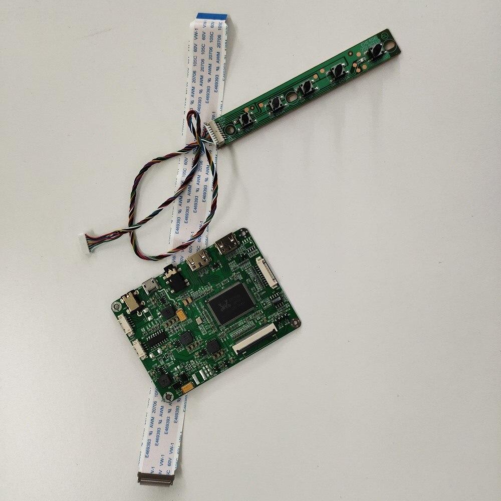 كيت ل N156HCE-GA2 رصد شاشة البسيطة مايكرو 2 HDMI EDP 1920x1080 LCD عرض لوحة LED تحكم مجلس 15.6
