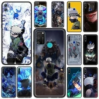 silicone soft phone case cover for honor 8x 9x 10 lite 20 30 pro 20e 20s6 15 30i play 9a luxury shell anime kakashi