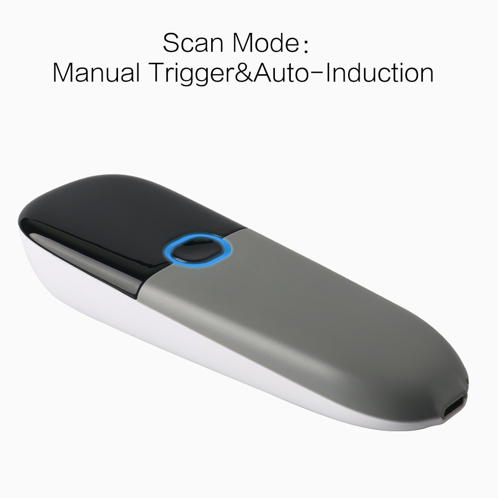 TEKLEAD Portable 2D Barcode Scanner with Bluetooth and 2.4G wireless mode CMOS Sensor enlarge