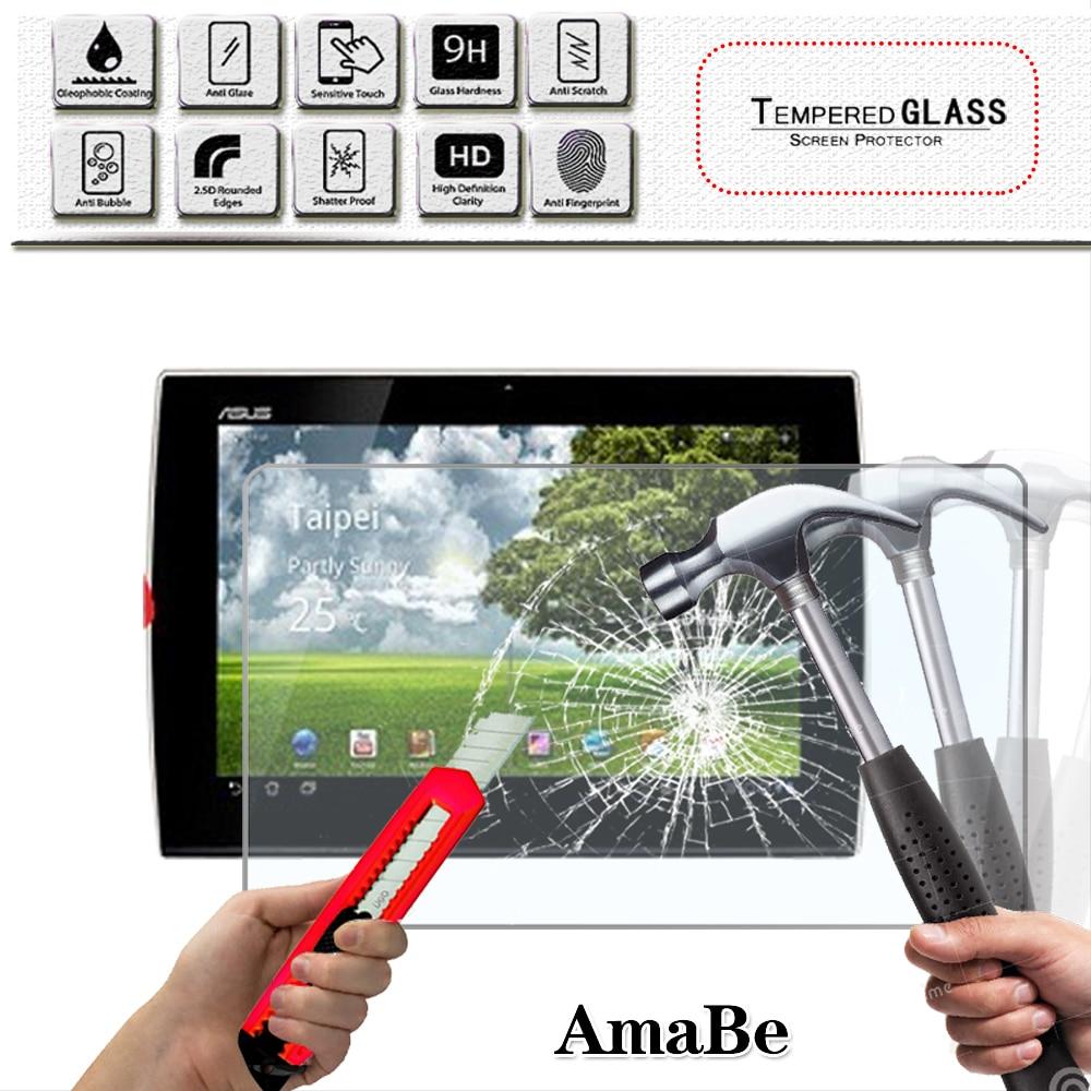Protector de pantalla de cristal templado para tableta ASUS, película protectora de...