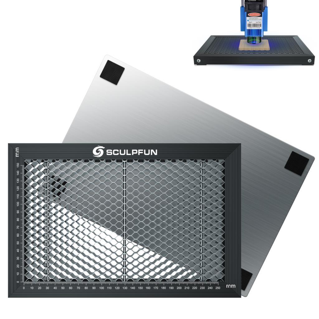 Деталь для лазерного проектора DIY, панель рабочего стола с Сотами, детали лазера для CO2 машина для лазерной гравировки и резки 300x200 мм