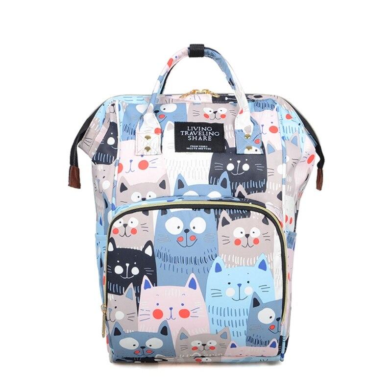 Mummy Mom Maternity Nappy Diaper Bag Large Capacity Baby Multifunction Travel Backpack Handbag